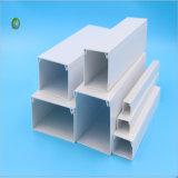 케이블 관리 50*50MMC를 위한 단단한 백색 PVC 케이블 중계