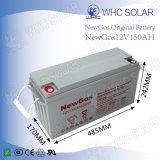 Bateria acidificada ao chumbo solar de bateria 12V 150ah da alta qualidade