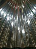 Aluzinkはカラーによって塗られた金属の屋根ふきシートを波形を付けた