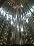 Aluzink runzelte Farbe beschichtete Metalldach-Blätter
