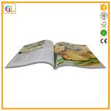 Impresión rectora del libro del cocinero de la cubierta suave