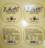Fertigung-Papieraufkleber-Kennsatz für Flaschen-Kennsatz