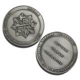 Loja de moeda metálica de alta qualidade com verniz de cozedura (YB-c-047)