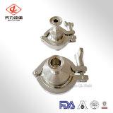 Acero inoxidable sanitario 304/316L de la autógena de la válvula de verificación de la venta de Hoting