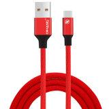 2.1A trançado Nylon Fast cabo USB do telefone celular para o Tipo C