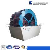 Máquina de la arandela de la arena de la rueda del compartimiento de la lámina del doble del precio bajo