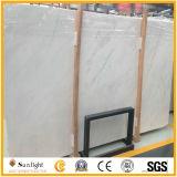 自然で白い石の磨かれた新しいVolakasの白い大理石の平板