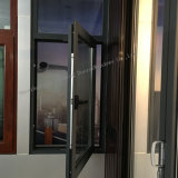 Guichet en aluminium insonorisé de tissu pour rideaux de profil de qualité avec des fonctions multi