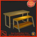 木表の家具または靴屋の表示かマルチ層の陳列台