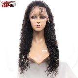 peruca natural do cabelo do Virgin natural da parte 130%Density com ondas onduladas