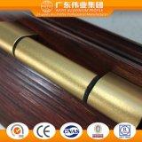 Profil en aluminium personnalisé pour le type de gril de guichet de la Chine