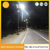 Iluminación solar solar de las luces de calle del brillo estupendo LED para el país de la yarda del camino