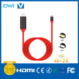 Тип-C к кабелю HDMI a/V High-Definition
