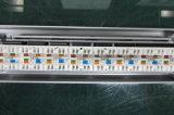 El panel de corrección de los accesos de la alta calidad 24 CAT6 UTP con los gatos de la piedra angular RJ45