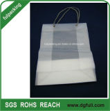 HDPEの100%年のバージンプラスチックストリングハンドバッグのショッピング・バッグ
