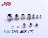 Resistente al agua IP68 SUS 304 316L Prensaestopas metálicos