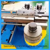 Dw75nc única cabeza máquina de doblado de tubos de acero hidráulico