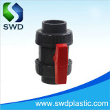 PVC 두 배 조합 공 벨브 (DIN, ANSI, BS)
