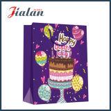 La lamination matte Holiday anniversaire Logo Design personnalisé Papier sac au chocolat