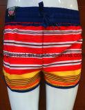 Износ быстро сухое Boardshorts пляжа ткани 4 дорог для женщин/повелительницы
