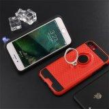 Caisse duelle de téléphone de Kistand de couche pour l'iPhone 8