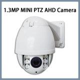 macchina fotografica ad alta velocità infrarossa della cupola di 1.3MP mini PTZ Ahd IR