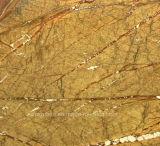 Marmo indiano naturale del Brown della foresta pluviale per le scale/la decorazione parete del pavimento