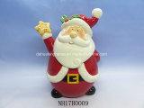 Санта-керамические Cookie Jar для рождественские украшения