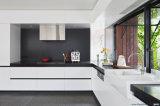 최신 판매 새로운 디자인 백색 색깔 높은 광택 래커 부엌 찬장 Blk 62