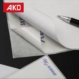 Papel termal en blanco impreso de la escritura de la etiqueta de envío