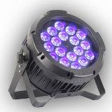 Heißer verkaufen18x15w RGBWA+Ua im Freien LED NENNWERT kann mit DMX beleuchten