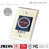 Инфракрасное излучение не нажмите кнопку открывания двери выхода для контроля доступа