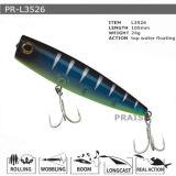 Pr-L3526 105mm 24G a personnalisé la première eau flottant l'attrait en plastique de pêche de vairon dur