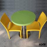 Tamanho pequeno diâmetro600mm 2 Seaters Stone mesa de jantar