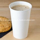 16A отложить одноразовые белого 16-унции горячих чашек