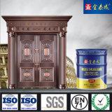 Revestimento Burglarproof do cozimento do revestimento da porta da segurança da pintura da porta