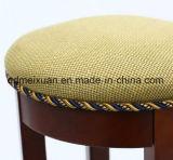 벤치 단단한 나무 의자 단단한 나무 발판 어린이 식사용 의자 가구 포도 수확 지중해 의자 (M-X3395)
