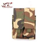 Wir taktische Airsoft Molle doppelte Doppelt-Mag-Zeitschrift-Beutel-Beutel-Pistole-Zeitschriften-Beutel-Kassetten-Klipp-Werkzeugtasche passendes M4 Ar15