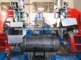 LPG 실린더 두 배 헤드 완곡한 용접 기계