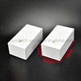بيضاء لون بسيطة تصميم ورقة صندوق من الورق المقوّى مع غطاء لأنّ إلكترونيّة