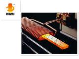 Machine de chauffage par induction pour la feuille d'acier inoxydable