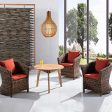 藤の柳細工のソファーの中国のラウンジチェア8027-13