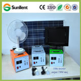 système d'alimentation solaire à la maison populaire de C.C d'utilisation de 30W Afrique mini