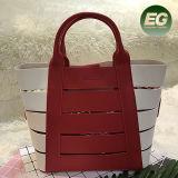 Le type de mode évident à l'extérieur des sacs de Madame de sac de main de collision de couleur de sac d'emballage Shooping avec le prix bas Sh192