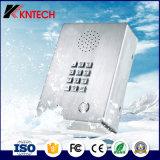 Telefone de aço industrial do elevador do aço inoxidável de telefone sem fio do telefone