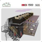 Het eenvoudige Aangepaste Geprefabriceerde Modulaire Huis van de Container als Opslag van de Koffie