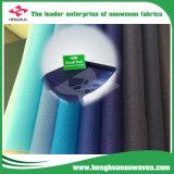 Ткань 100% PP Spunbond Non-Woven для ткани таблицы с МНОГОТОЧИЕМ