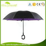 좋은 품질 거꾸로 한 우산 리버스 우산 외팔보 우산