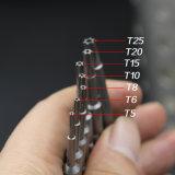 Ручные инструменты Torx электроэнергии с плоским лезвием бит Сделано в Китае
