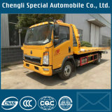 Camion de remorquage de dépanneuse de DFAC 3tons avec la dépanneuse de camion de la grue 3000kg